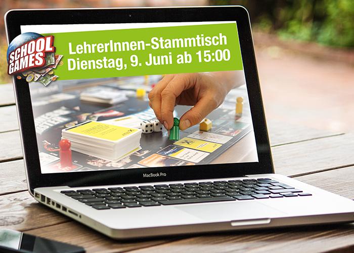 Online LehrerInnen-Stammtisch am 9. Juni