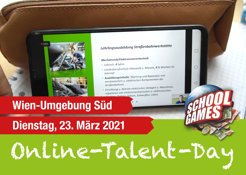 Online-Talent-Day Wien-Umgebung Süd