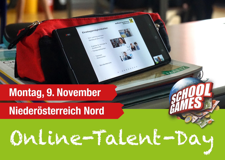 Online-Talent-Day Graz am 13. Oktober