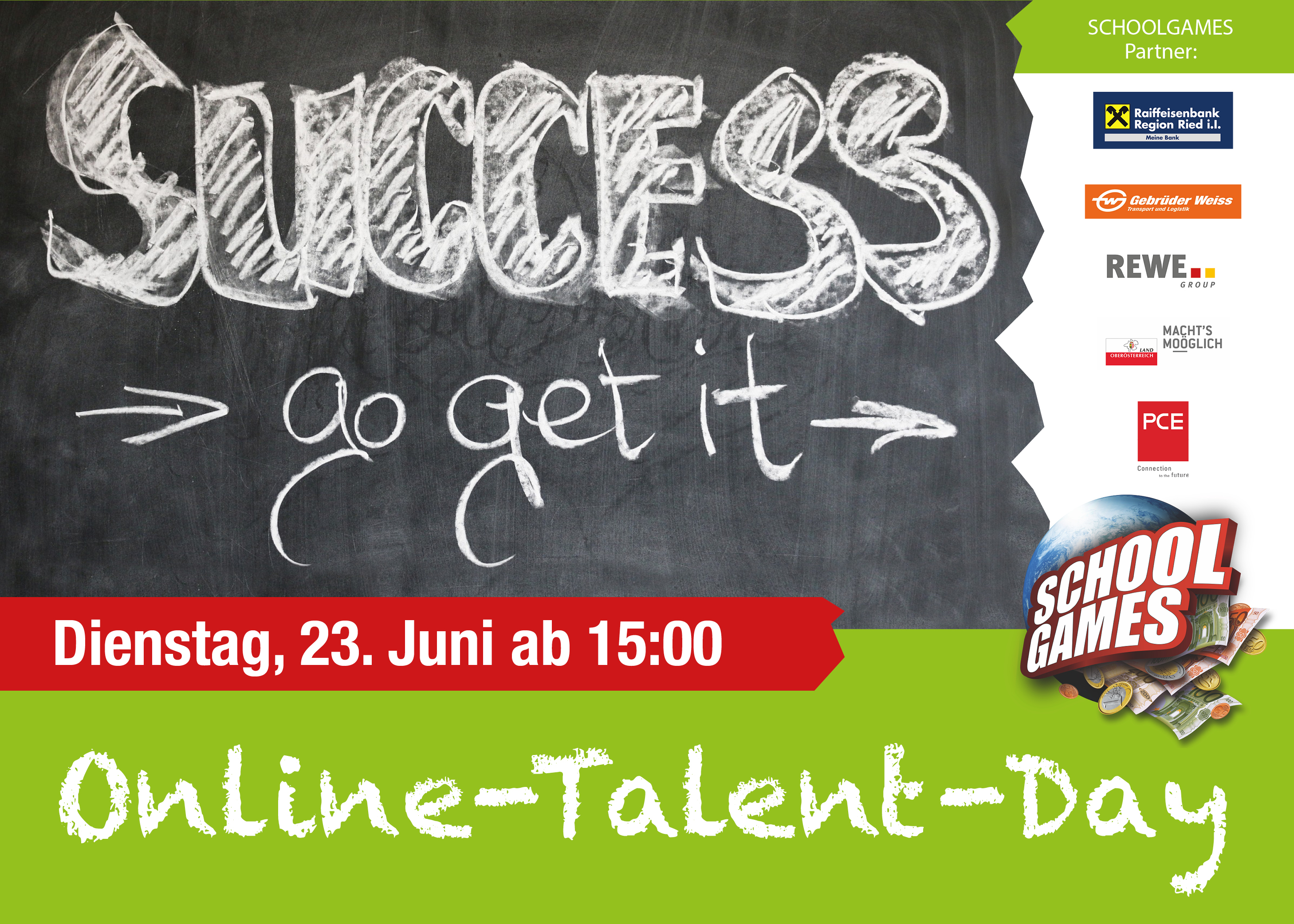 Online-Talent-Day Ried am 23. Juni 2020