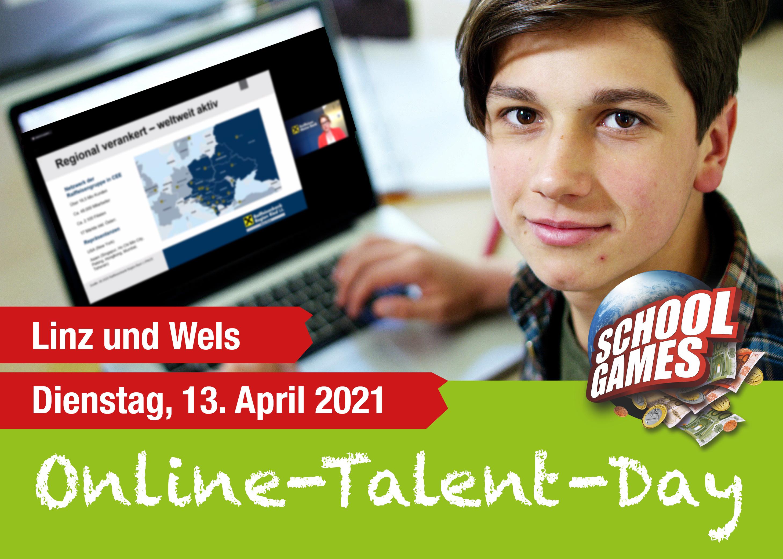 Online-Talent-Day Linz und Wels