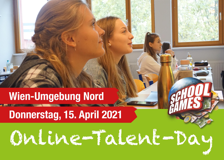 Online-Talent-Day Wien-Umgebung Nord