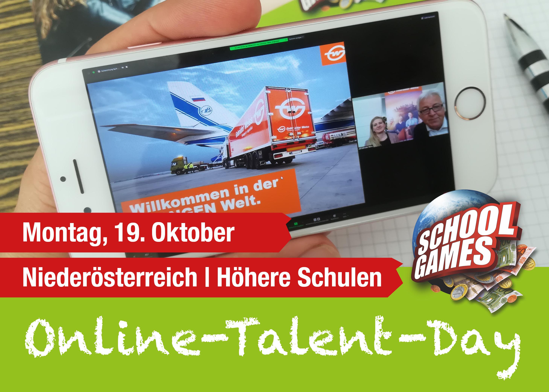 Online-Talent-Day Mödling am 19. Oktober