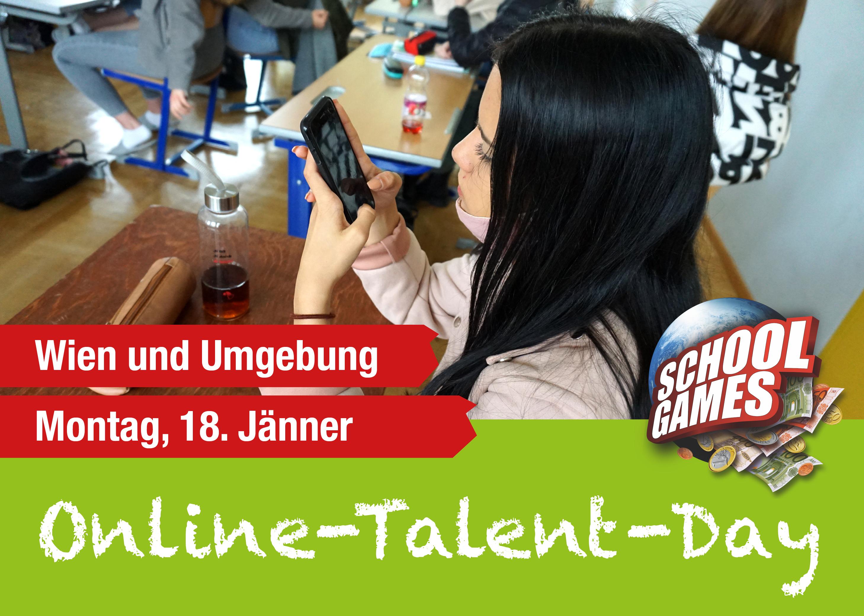 Online-Talent-Day Wien am 18. Jänner